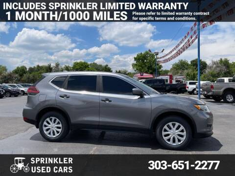2018 Nissan Rogue for sale at Sprinkler Used Cars in Longmont CO