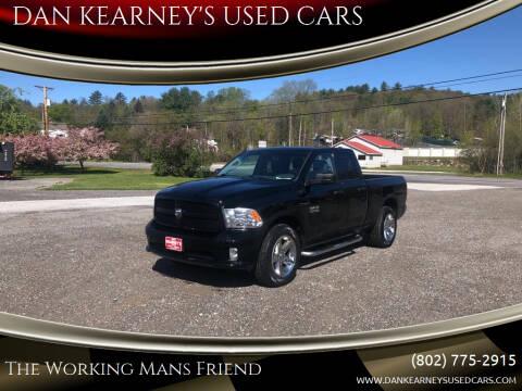 2014 RAM Ram Pickup 1500 for sale at DAN KEARNEY'S USED CARS in Center Rutland VT