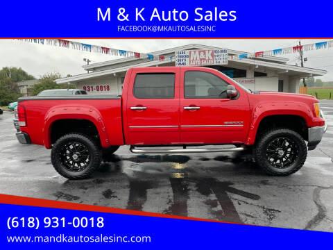 2011 GMC Sierra 1500 for sale at M & K Auto Sales in Granite City IL