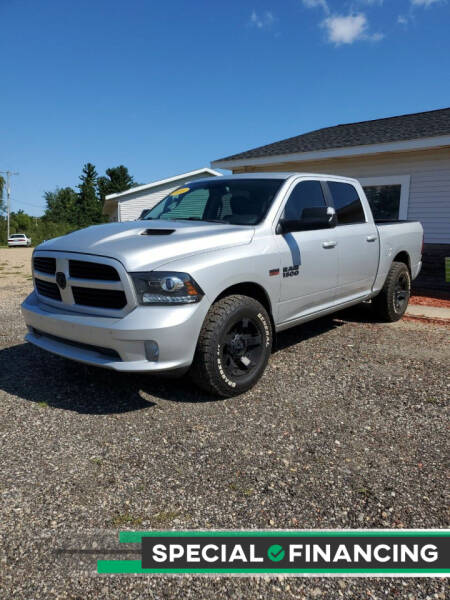 2016 RAM Ram Pickup 1500 for sale at Simmons off road sales LLC in Saint Johns MI