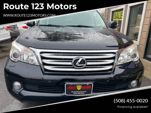2011 Lexus GX 460 for sale at Route 123 Motors in Norton MA