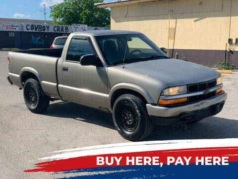 2000 Chevrolet S-10 for sale at Mid City Motors Auto Sales - Mid City North in N Fort Myers FL