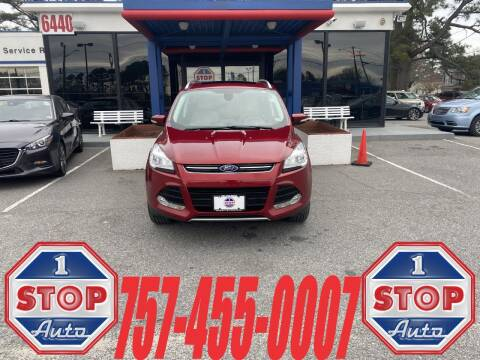 2014 Ford Escape for sale at 1 Stop Auto in Norfolk VA