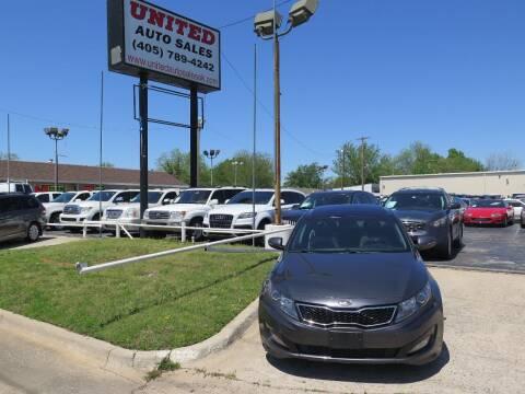 2011 Kia Optima for sale at United Auto Sales in Oklahoma City OK