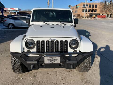 2013 Jeep Wrangler for sale at Mulder Auto Tire and Lube in Orange City IA
