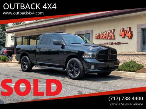 2018 RAM Ram Pickup 1500 for sale at OUTBACK 4X4 in Ephrata PA