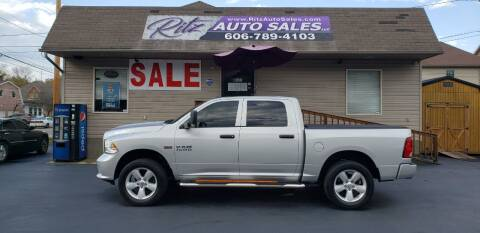 2015 RAM Ram Pickup 1500 for sale at Ritz Auto Sales, LLC in Paintsville KY