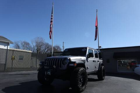 2019 Jeep Wrangler Unlimited for sale at Danny Holder Automotive in Ashland City TN