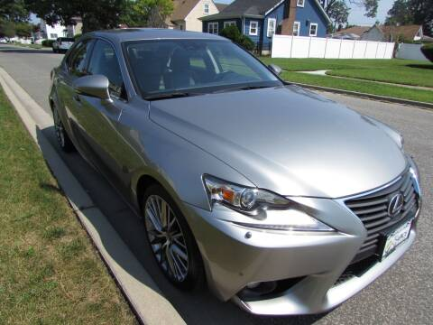 2014 Lexus IS 250 for sale at First Choice Automobile in Uniondale NY