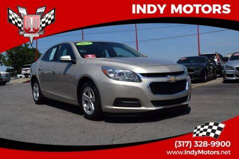 2015 Chevrolet Malibu for sale at Indy Motors Inc in Indianapolis IN