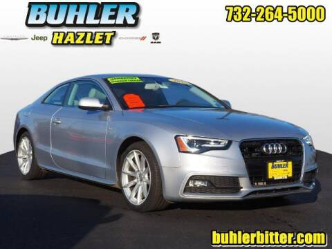 2015 Audi A5 for sale at Buhler and Bitter Chrysler Jeep in Hazlet NJ