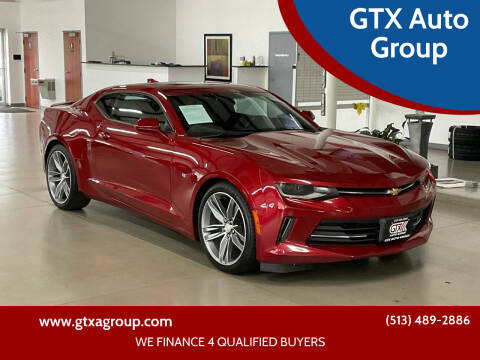 2016 Chevrolet Camaro for sale at GTX Auto Group in West Chester OH