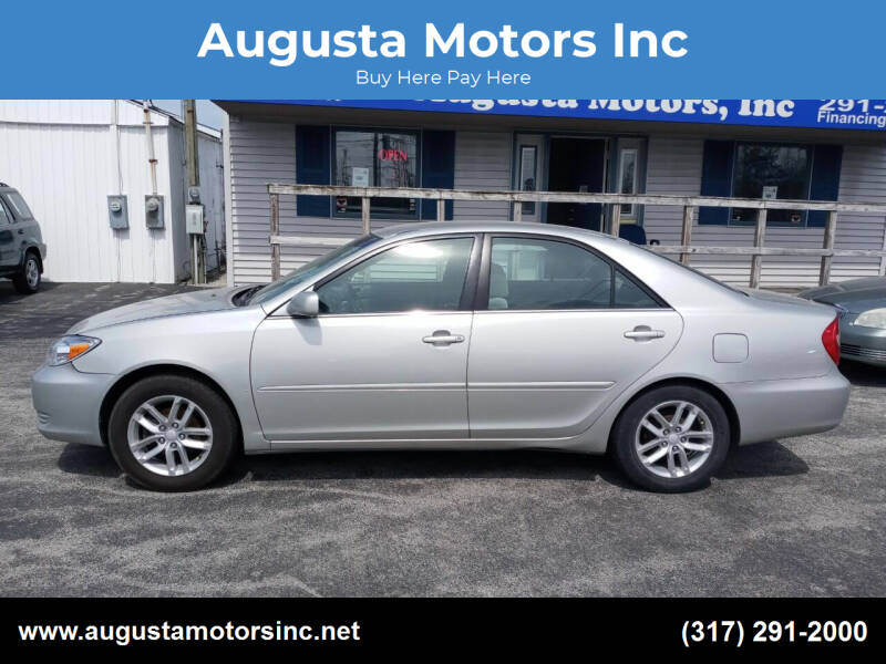 2002 Toyota Camry for sale at Augusta Motors Inc in Indianapolis IN
