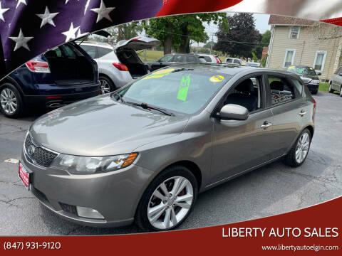 2011 Kia Forte5 for sale at Liberty Auto Sales in Elgin IL