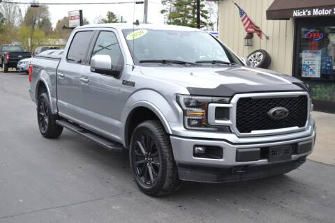 2020 Ford F-150 for sale at Nick's Motor Sales LLC in Kalkaska MI