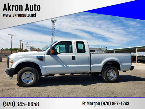 2009 Ford F-250 Super Duty for sale at Akron Auto in Akron CO
