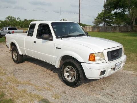 2005 Ford Ranger for sale at Hartman's Auto Sales in Victoria TX