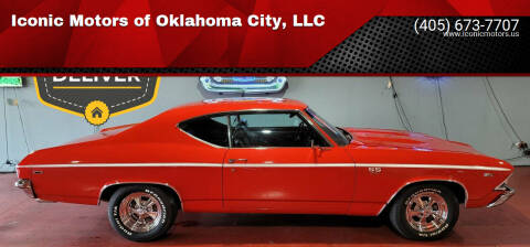 1969 Chevrolet Chevelle for sale at Iconic Motors of Oklahoma City, LLC in Oklahoma City OK
