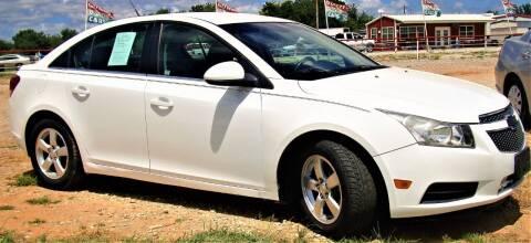2013 Chevrolet Cruze for sale at Advantage Auto Sales in Wichita Falls TX