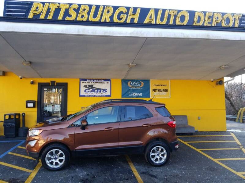 2019 Ford EcoSport for sale at Pittsburgh Auto Depot in Pittsburgh PA