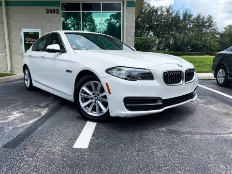 2014 BMW 5 Series for sale at CARPORT SALES AND  LEASING in Oviedo FL