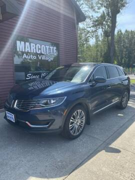 2017 Lincoln MKX for sale at Marcotte & Sons Auto Village in North Ferrisburgh VT