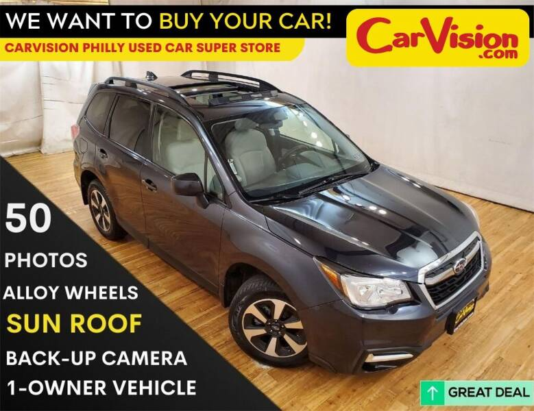 2017 Subaru Forester for sale at Car Vision Mitsubishi Norristown - Car Vision Philly Used Car SuperStore in Philadelphia PA