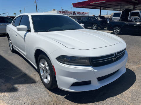 2015 Dodge Charger for sale at DESANTIAGO AUTO SALES in Yuma AZ