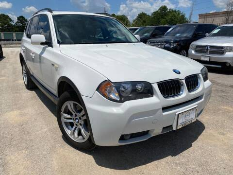 2006 BMW X3 for sale at KAYALAR MOTORS in Houston TX