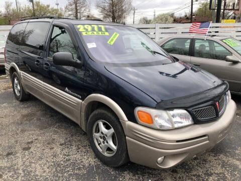 2001 Pontiac Montana for sale at Klein on Vine in Cincinnati OH