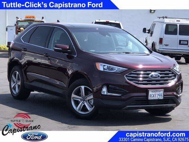 2019 Ford Edge for sale in San Juan Capistrano, CA