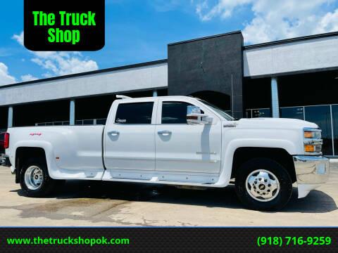 2017 Chevrolet Silverado 3500HD for sale at The Truck Shop in Okemah OK