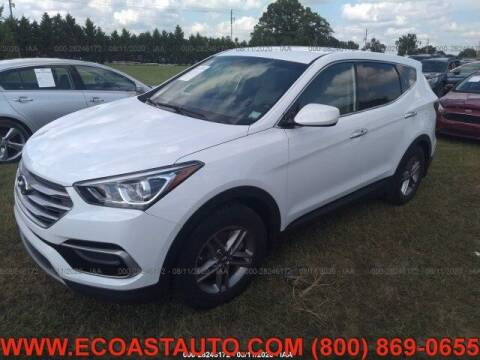 2017 Hyundai Santa Fe Sport for sale at East Coast Auto Source Inc. in Bedford VA