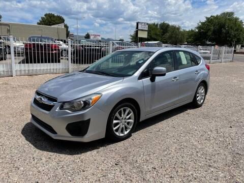 2014 Subaru Impreza for sale at Top Gun Auto Sales, LLC in Albuquerque NM