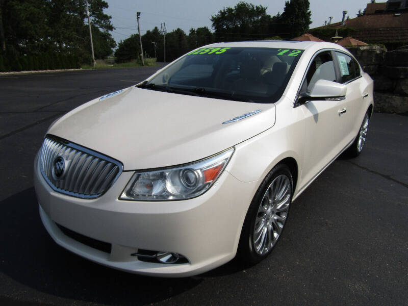 2012 Buick LaCrosse for sale at Mike Federwitz Autosports, Inc. in Wisconsin Rapids WI