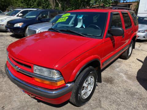 2001 Chevrolet Blazer for sale at 5 Stars Auto Service and Sales in Chicago IL