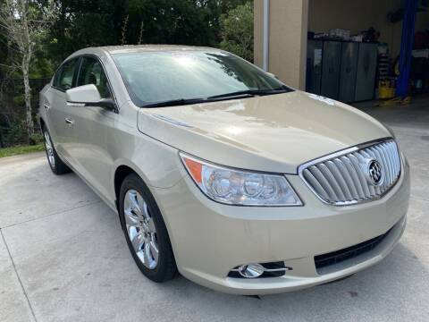 2010 Buick LaCrosse for sale at Jeff's Auto Sales & Service in Port Charlotte FL