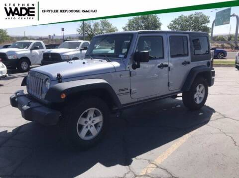 2018 Jeep Wrangler JK Unlimited for sale at Stephen Wade Pre-Owned Supercenter in Saint George UT