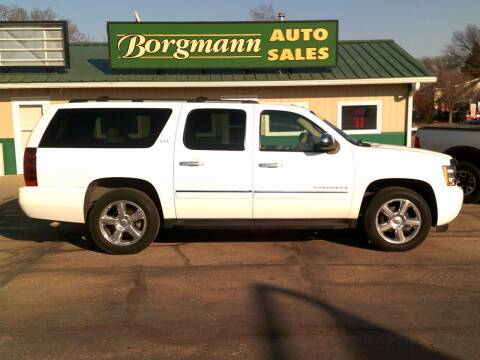 2011 Chevrolet Suburban for sale at Borgmann Auto Sales in Norfolk NE