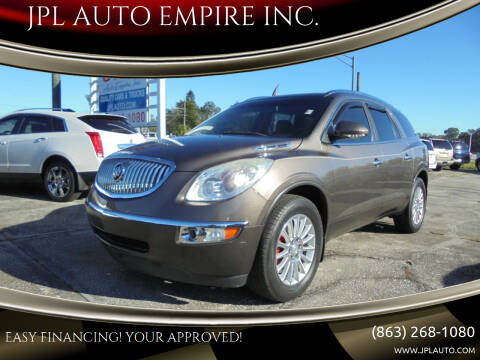 2010 Buick Enclave for sale at JPL AUTO EMPIRE INC. in Auburndale FL