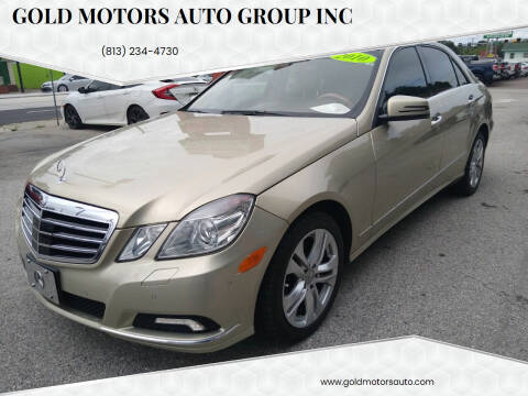 2010 Mercedes-Benz E-Class for sale at Gold Motors Auto Group Inc in Tampa FL