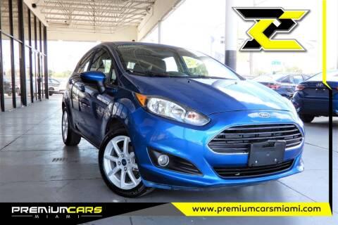 2019 Ford Fiesta for sale at Premium Cars of Miami in Miami FL