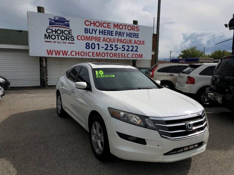 2010 Honda Accord Crosstour for sale at Choice Motors of Salt Lake City in West Valley  City UT