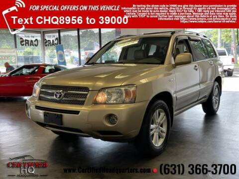 2006 Toyota Highlander Hybrid for sale at CERTIFIED HEADQUARTERS in Saint James NY