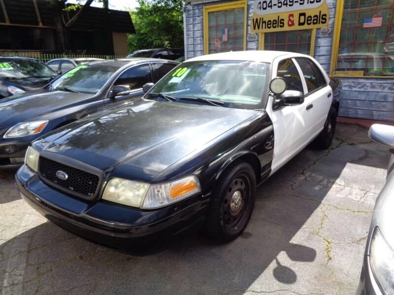 2010 Ford Crown Victoria for sale in Atlanta, GA