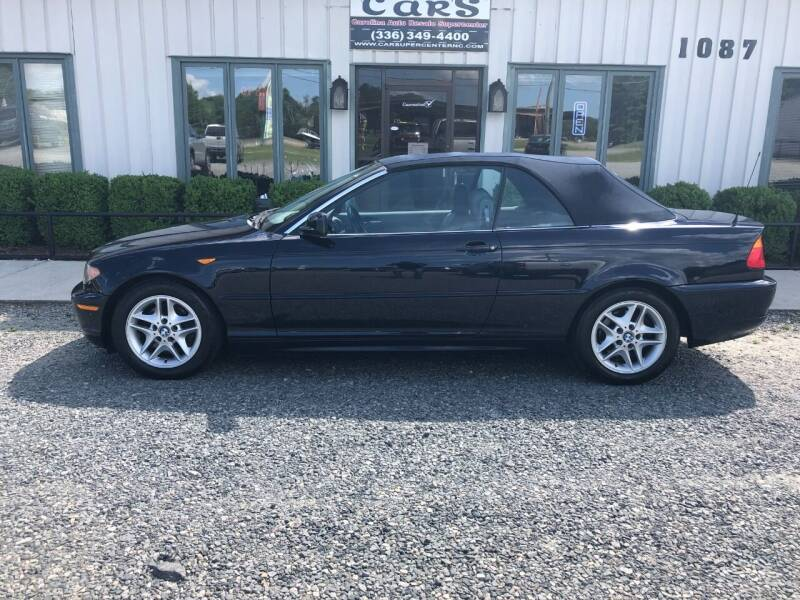 2004 BMW 3 Series for sale at Carolina Auto Resale Supercenter in Reidsville NC