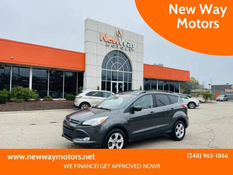 2015 Ford Escape for sale at New Way Motors in Ferndale MI