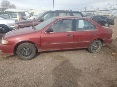 1998 Nissan Sentra for sale at PYRAMID MOTORS - Fountain Lot in Fountain CO
