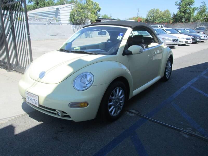 2004 Volkswagen New Beetle Convertible for sale in Sacramento, CA