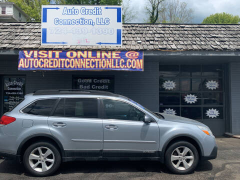 2014 Subaru Outback for sale at Auto Credit Connection LLC in Uniontown PA